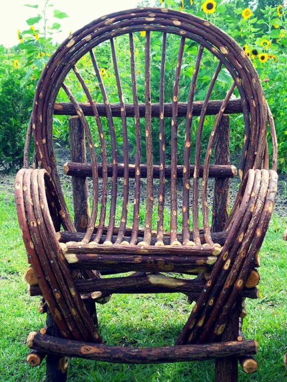 Classic Willow Rocking Chair $425. FREE SHIPPING IN CONTINENTAL USA Email  For Shipping Details